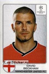N° 179 - David BECKHAM (2001-02, Manchester United, ANG > Jan à Juin 2013, PSG)