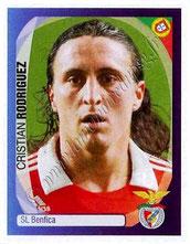 N° 408 - Cristian RODRIGUEZ (2005-08, PSG > 2007-08, Benfica, POR)