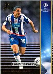 N° 162 - Cristian RODRIGUEZ (2005-08, PSG > 2008-09, Porto, POR) (Silver Card)
