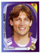 N° 338 - Gabriel HEINZE (2001-04, PSG > 2007-08, Real Madrid, ESP)