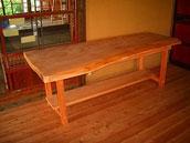 テーブル 古材 大工製作
