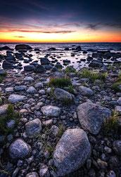 Landschaftsfotografie Deutschland, Insel Rügen, Ostsee, Mohnblumenfeld