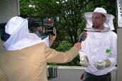 Schweizer Fernsehen unterwegs mit dem Kammerjäger