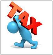 Fini avec une fiscalité lourde