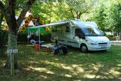 camping car gers - camping de l'arros
