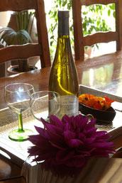 Table d'hôtes à La Levraudière, produits locaux
