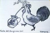 Gallo romagnolo, vignetta