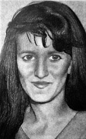 Ritratto di ragazza, grafite su carta. 1994