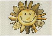 Sun & Bread - pastelli e pennarelli su carta