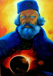 Bakunin dell'eclissi, seconda versione.