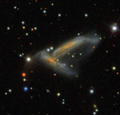 Arp 278 NGC 7253