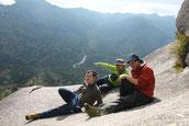 友達同士で、絶景の太鼓岩へ!(11月の縄文杉1泊ガイドツアー)