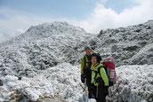 3月積雪で白銀の屋久島・宮之浦岳縦走ガイドツアー