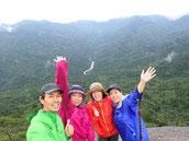 神奈川から屋久島へ(女性限定、8月の縄文杉1泊ガイドツアーにて)