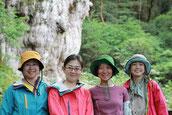 中国や仙台から屋久島へ(9月の女性限定・縄文杉1泊ガイドツアー)