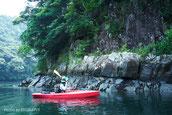 屋久島の清流,白谷雲水峡,リバーカヤック,屋久島,半日,ガイドツアー