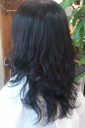 髪痩せしないパーマ 傷まないパーマ しっかりカール 艶のあるパーマ