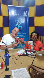 Radiointerview in Oaxaca