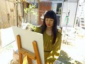 画家 美術家 立花雪 YukiTachibana 楽園のアート