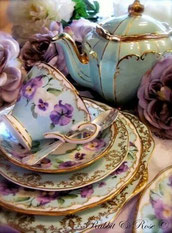 We have a beautiful selection of china, simply for hire