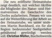 Bild: Seeligstadt Chronik 2005