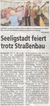 Bild.: Teichler Seeligstadt Dorffest