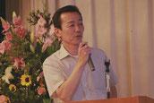 安全・環境委員会の発表をする矢田次長