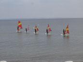 Kindersurfen Surfschule Niendorf/O.