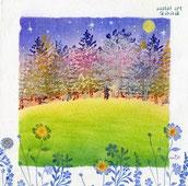 輝きの森(春)