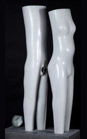 """""""Adam & Eva"""" (80cm)"""