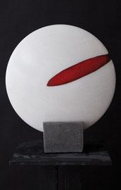 """Sun & red resin"" (40cm)"
