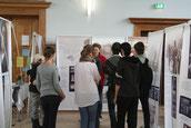Klassenstufe 9 zur Anne Frank Ausstellung in Merseburg