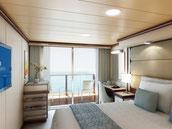 船室 海側バルコニー