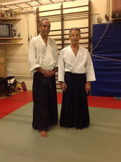 La semaine aïkido à Marseille avec Claude Pellerin 7 Dan Shihan. Septembre 2013