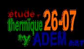 etude-thermique26-07.fr: un site recommandé par du rouge au vert