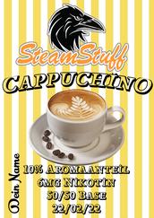 Cappucchinoaroma Cappuccino für dampfer, cappuccino als aroma, Kaffeearoma zum dampfen kaufen, kaffeearoma kaufen