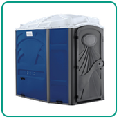 Clean Handicap Accessible Portable Restrooms