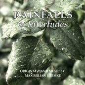 Cover Piano EP Klaviermusik Rainfalls and Interludes Maximilian J. Zemke 2020