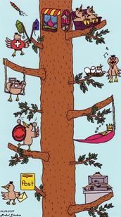 Der Spatzenbaum
