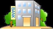 相続財産確認のための銀行の絵
