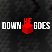 Down He Goes Logo