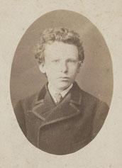 13歳のときのゴッホの写真。