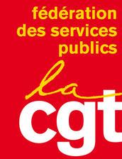 Cliquer sur le logo pour accéder au site Fédération Service Public CGT