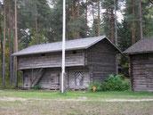 Alte Kornspeicher im Freilichtmuseum - © Blockhaus Kuusamo