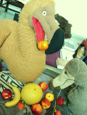 Dodo sagt: esst Obst