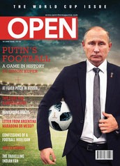 Обложка журнала Open (Индия), 18.06.2018 / Cover of Open magazine (India), 18.06.2018; Путин Владимир / V. Putin
