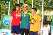 Campeón de España 100 espalda Jul 2012 (Mairena)