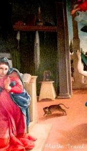 Annunciazione - Lorenzo Lotto, Museo Villa Colloredo Mels, Recanati