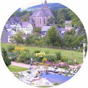 Gartenteich Fewo Weller
