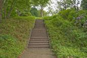 画像;公園の階段